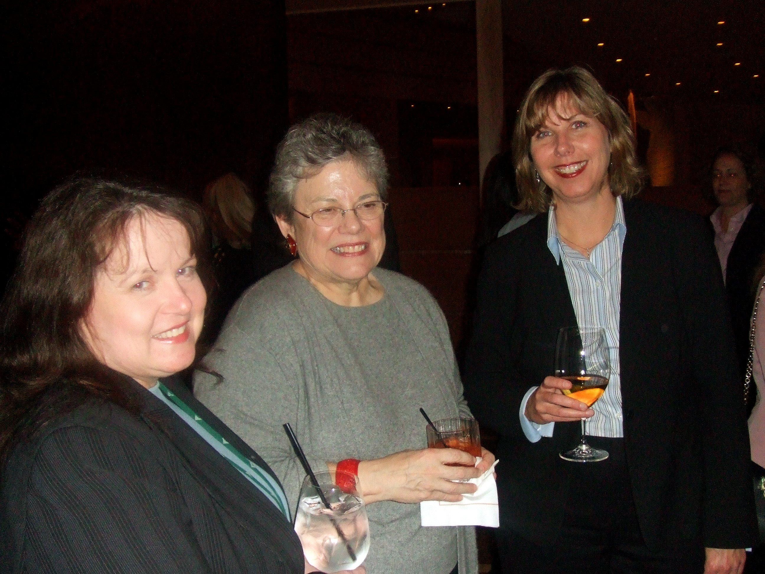 Gary Crum, Herman Kluge and Anne Warnock