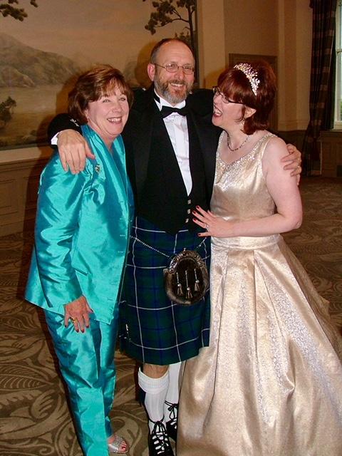 Judy Creel, Herman Kluge and Anne Warnock