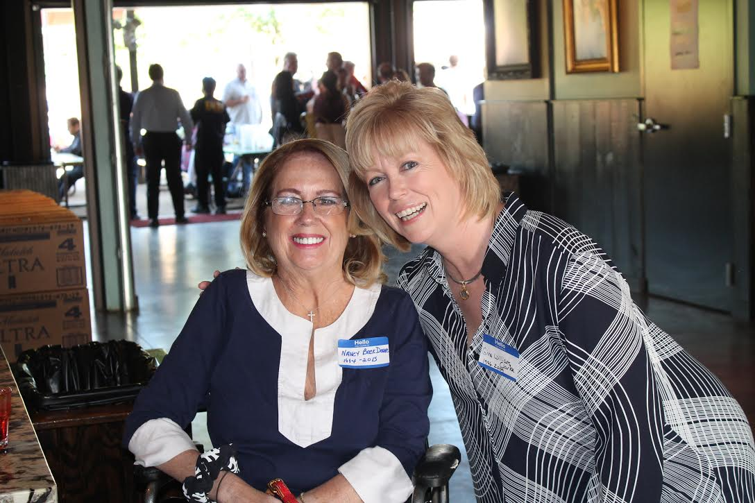 Nancy with Gina Williams Clarke