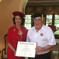 University of Houston presents Mike Cemo with an Honorary Doctorate
